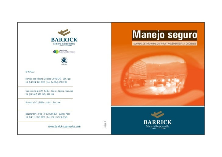 Programa de Seguridad - Barrick