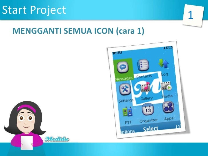 6 mengganti aset icon a