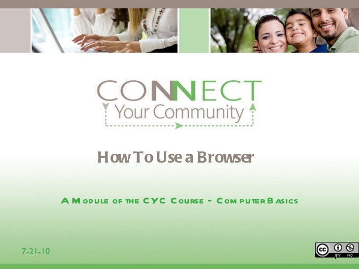 6 module how to use a browser 1