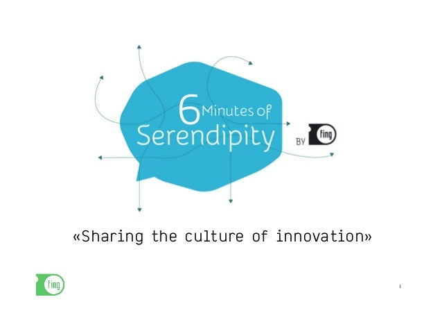 «Sharing the culture of innovation»  1