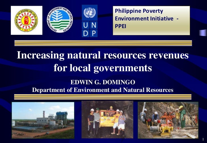 Natural resource extraction for poverty reduction in the Philippines