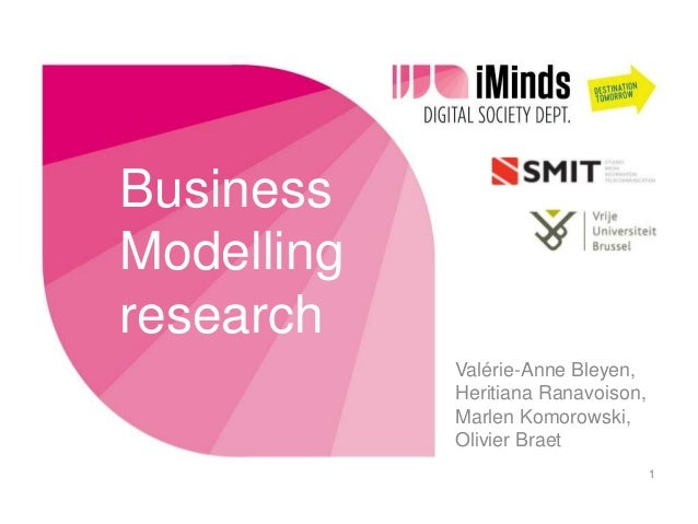 G@S: Business Modelling Research