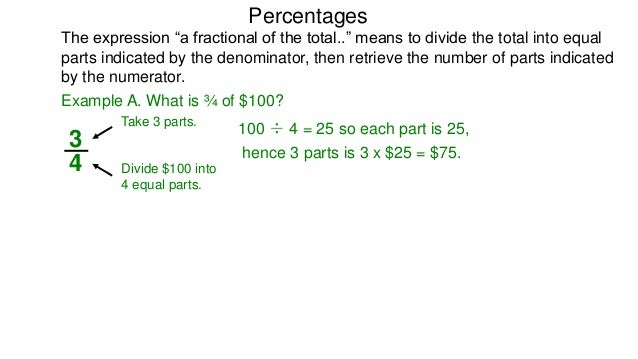 how to turn a fraction into a percent calculator