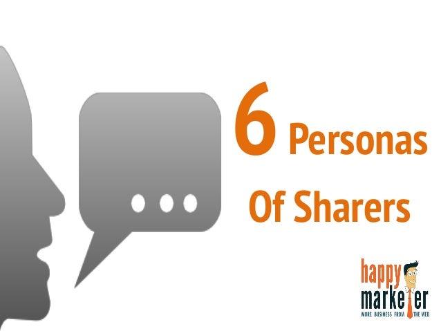 6Personas Of Sharers