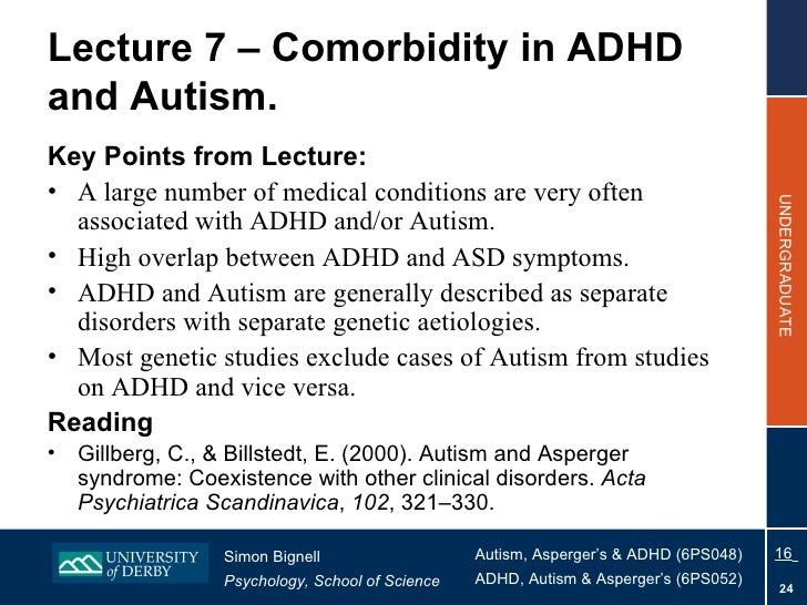 comorbidity between reading disability and adhd essay Keywords: learning disorders, comorbidity, language disorder, motor coordination disorder, adhd, mood and anxiety disorders background learning disorders (ld) affect about 2-10% of the.