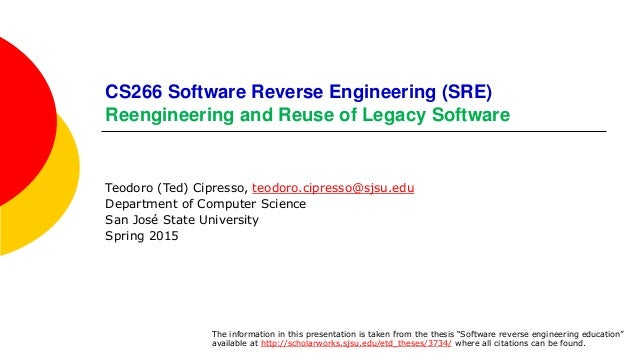 Write my software engineering thesis