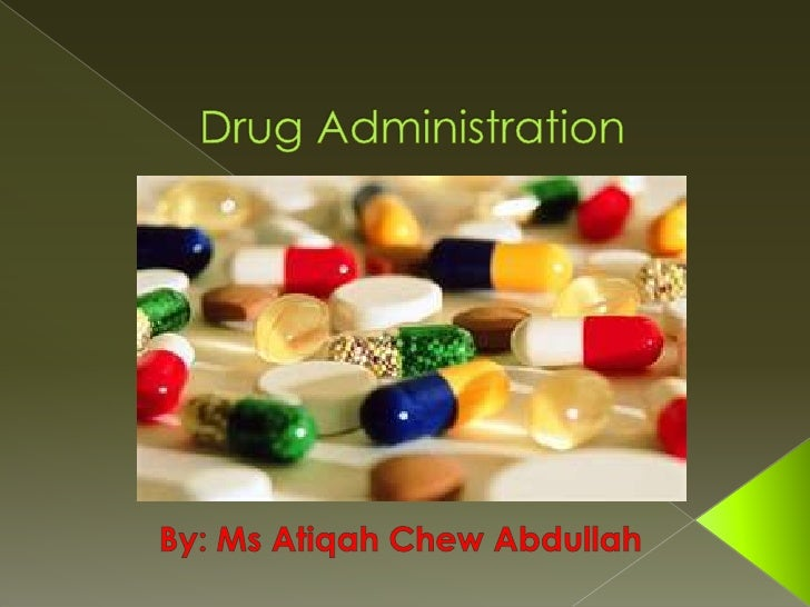 6 rules of drug administration