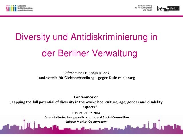 Diversity within Berlin city administration