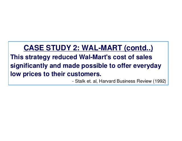 wal mart case study essays Essay, case study, textbook solution wal-mart wal-mart is the largest private employer in the united states by 2005 it operated over 5,582 stores in 16 countries and emp.