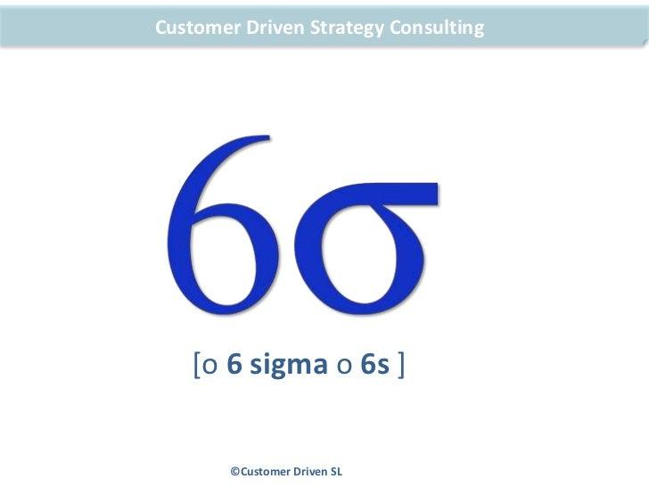 6 sigma una metodologia de mejora