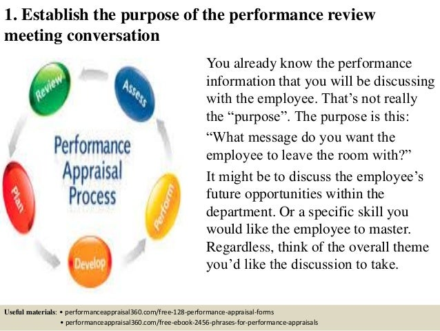 the intent of performance evaluations within an organization Performance reviews are an important feature in any organization since it determines the future growth of an employee performance review examples help in guiding people responsible for.