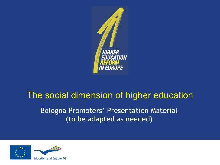 dimension social educacion: