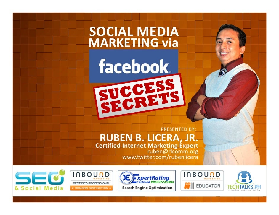 SOCIAL MEDIA                              MARKETING via         EVENT ORGANIZED BY                                        ...