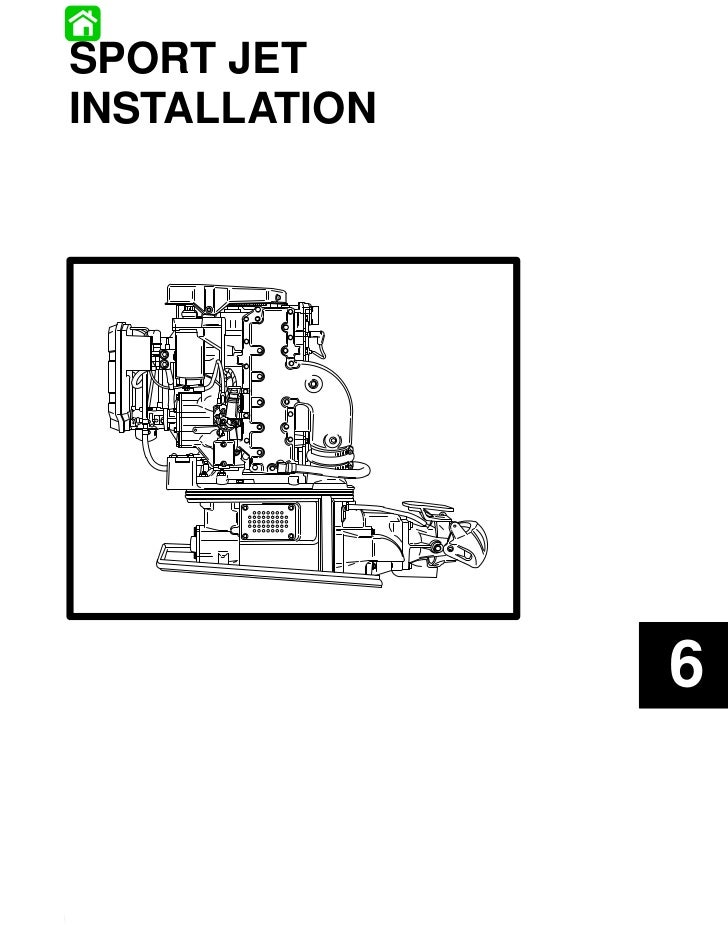 SPORT JET INSTALLATION                                       6Printed in U.S.A.   6-–1 -   90-823860961 495