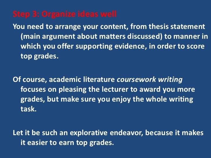 essay about matter