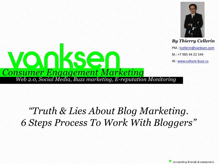 6 Steps Process For Blog Marketing