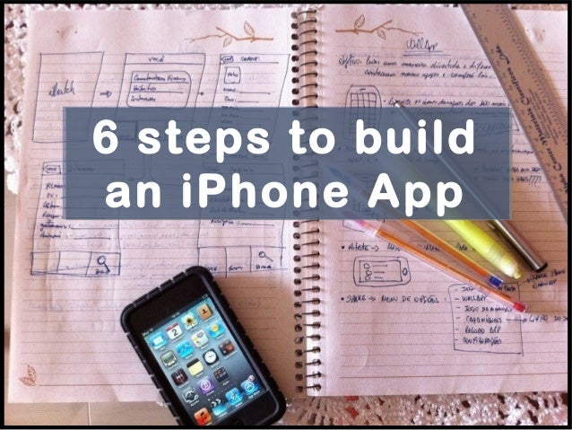 6 steps to build an iphone app