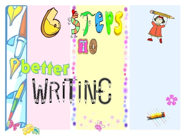 This work shop is to guide teachers to a better writing for their students.  It is divided into six steps to be given in s...