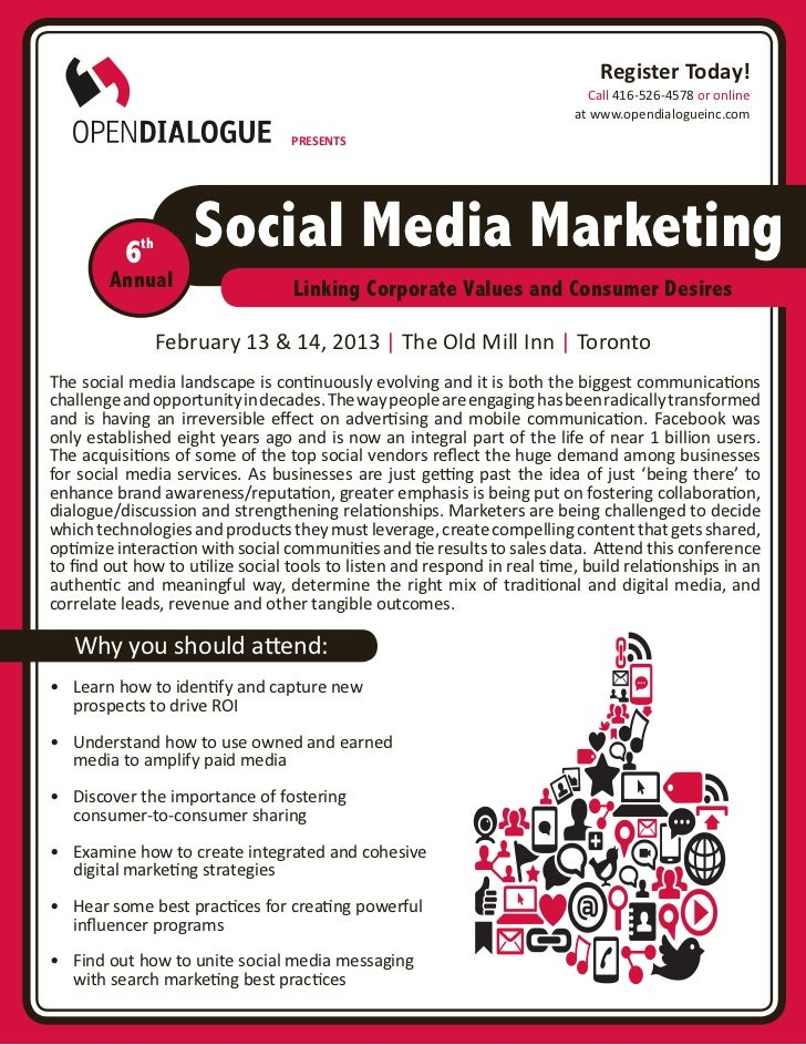 6th Annual Social Media Marketing Conference