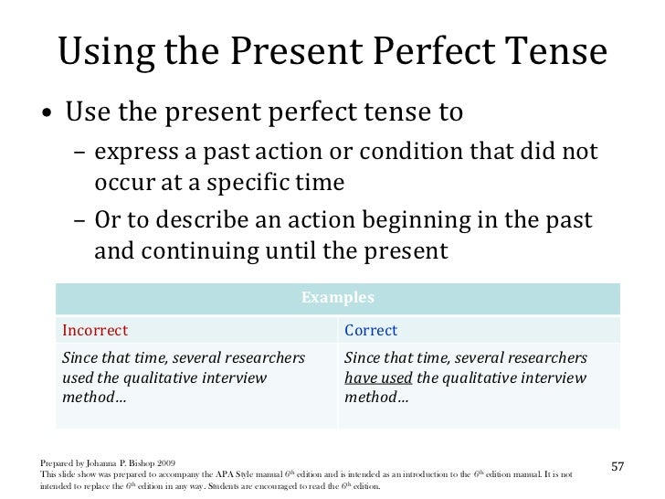 What tense should an essay be written in