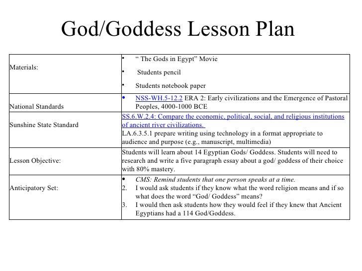 personal essay lesson plans