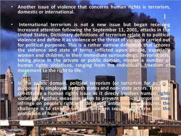 the human rights act and anti terrorism Factsheet – terrorism and the echr april 2018  this factsheet does not bind the court and is not exhaustive  terrorism and the european convention on human rights.