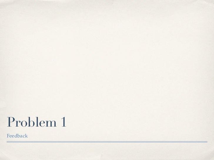 6th P Problem 1 Multi 2011