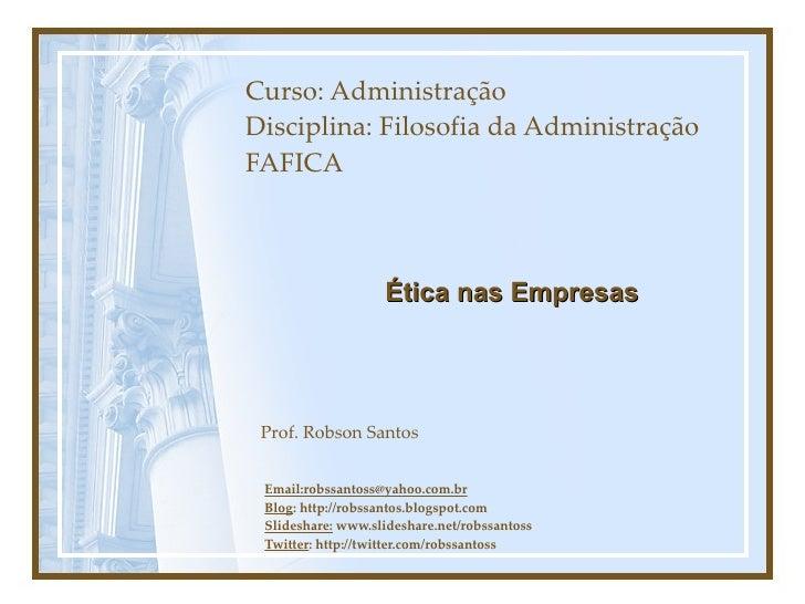 6 ética
