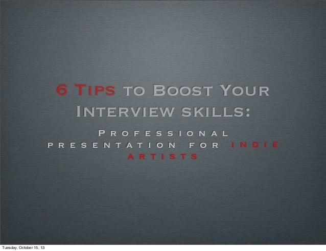 6tip interview epr