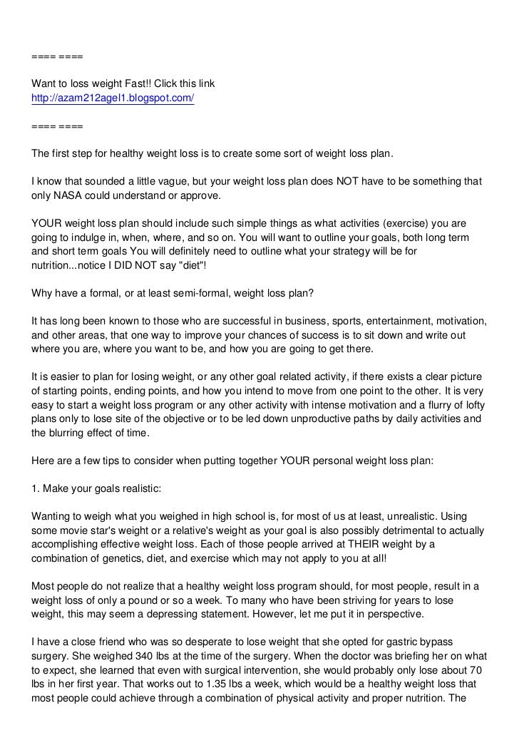 Weight loss, weight loss made simple, weight loss fast [6 tips for a weight loss plan]