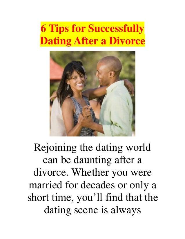 6 Tips for Dating After Divorce
