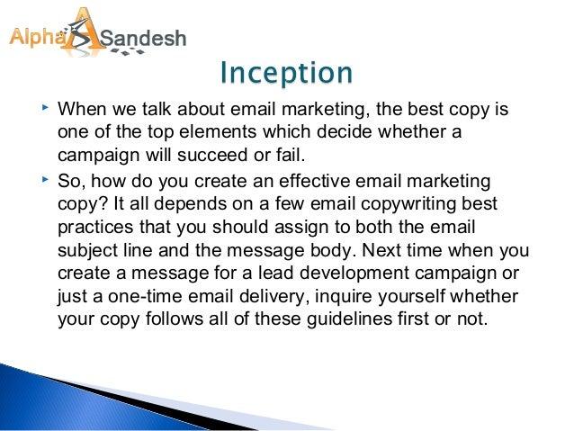 Copy marketing