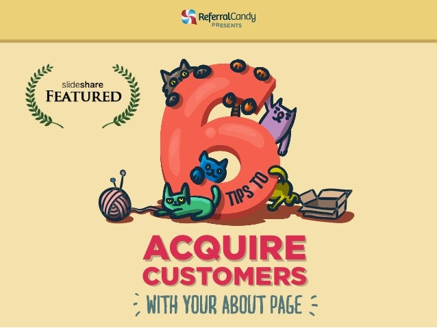 6 Tips to Acquire Customers with Your About Page