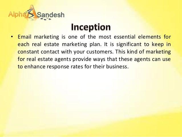 marketing plan for real estate