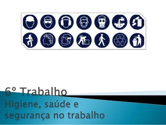  A segurança do trabalho propõe-se combater, também  dum ponto de vista não médico, os acidentes de  trabalho, quer elimi...