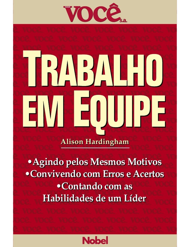 6trabalhoemequipe 110815115818-phpapp01