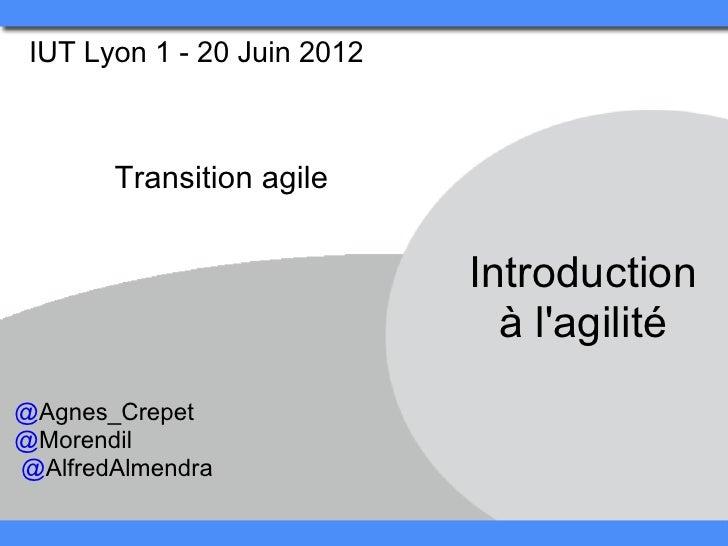 #6 transition agile