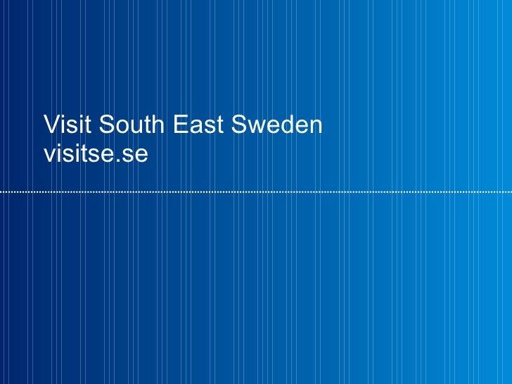 Visit South East Sweden visitse.se