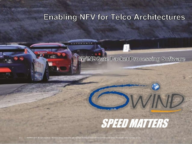 6WINDGate™ - Enabling NFV for Telco Architectures