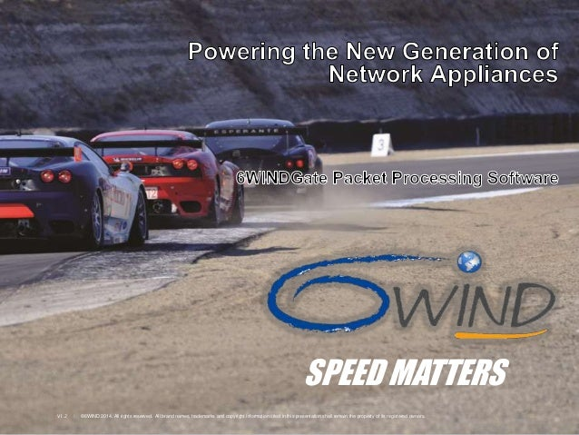 6WINDGate™ - Powering the New Generation of Network Appliances