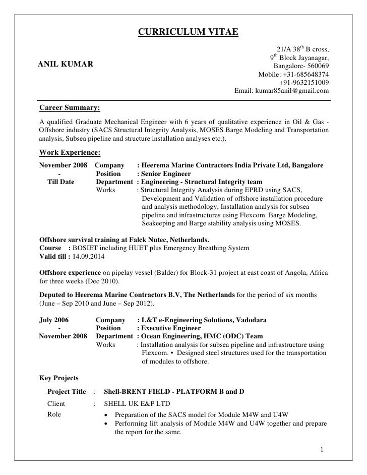 1 Aircraft Mechanic Resume Templates Try Them Now