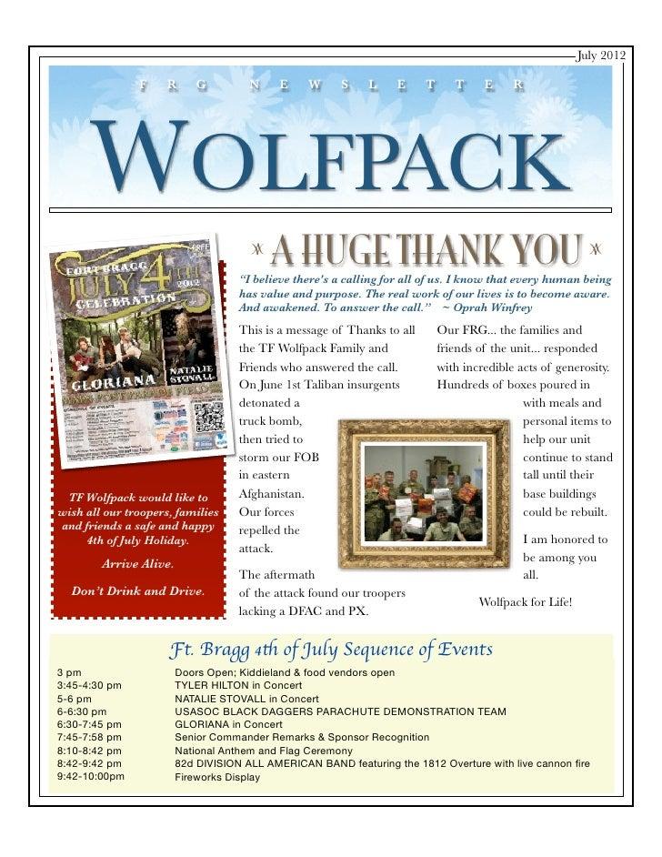 7-1-12 FRG Newsletter