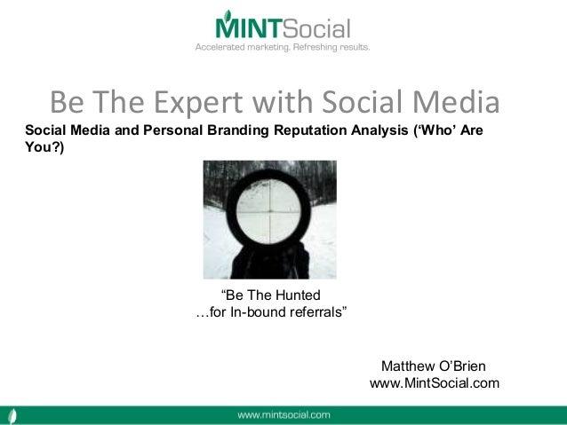 Social Media & Personal Branding 2