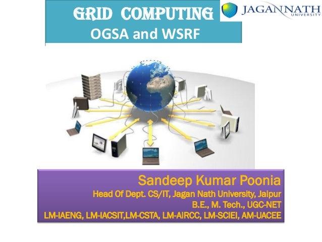 7. the grid ogsa