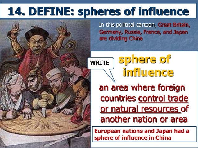 an analysis of a sphere of influence
