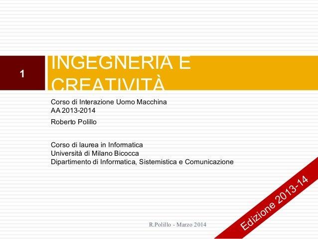 7.Ingegneria e creativita'