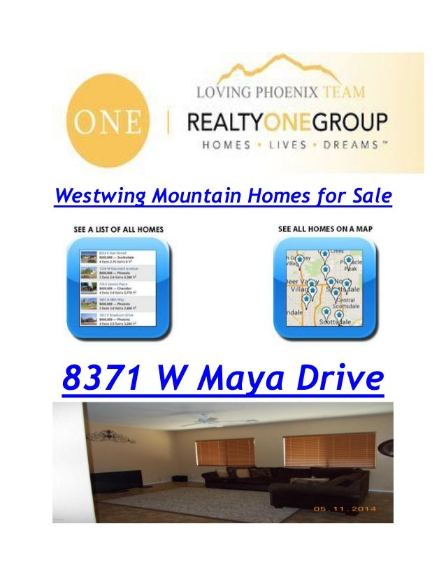 Westwing Mountain Homes for Sale 8371 W Maya Drive