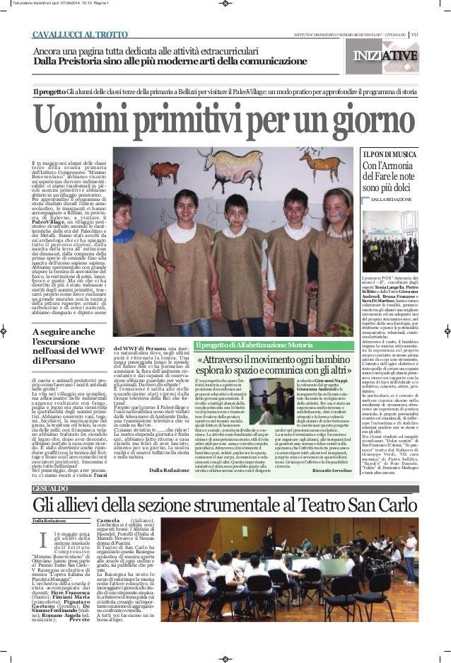 """I percorsi PON """"Armonia dei suoni I –II"""", coordinati dagli esperti Tonia Langella, Pietro Sellittoe dalle Tutor Giovanna A..."""
