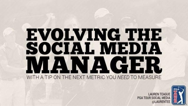 The New Social Media Manager, Lauren Teague, PGA - Social Fresh EAST 2014