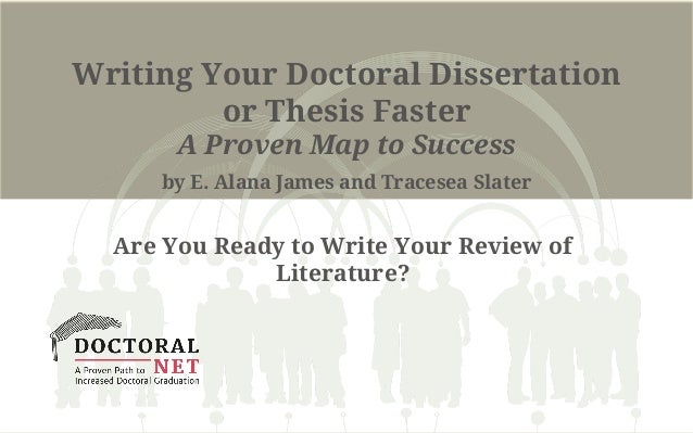 Dissertation doctoral invisible rule success writing
